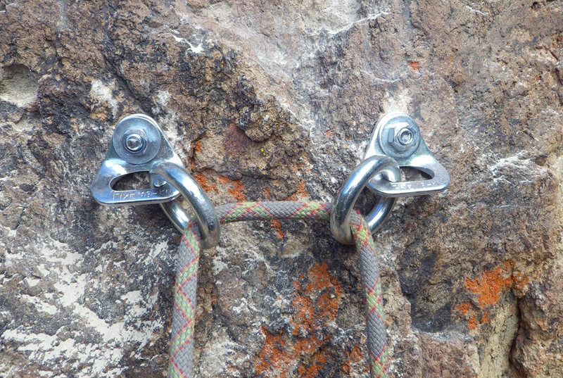 Rock Climbing Photo: New anchors