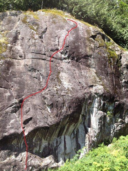 Rock Climbing Photo: Hatzic middle