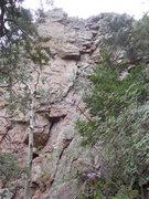 Rock Climbing Photo: 5.8 Y'er Ass
