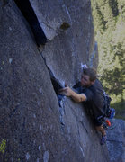 "Rock Climbing Photo: Brett Gordon on ""Wizards Well"""