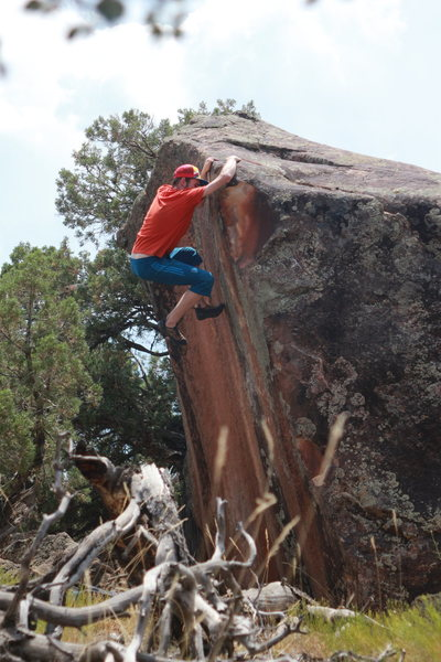 Rock Climbing Photo: Get that last hold and you're golden!