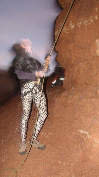 Rock Climbing Photo: escalante