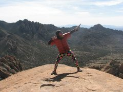 Rock Climbing Photo: cochismo
