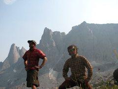 Rock Climbing Photo: Feather Butress