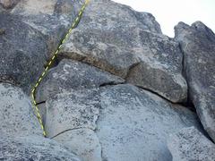 Rock Climbing Photo: The leftmost hand crack.