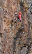 Rock Climbing Photo: Fred Berman sending the crux We Were Jumpers Once ...