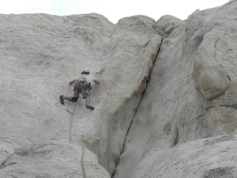 Rock Climbing Photo: Kelly Corbin on Tucker Dies of Dysentery.