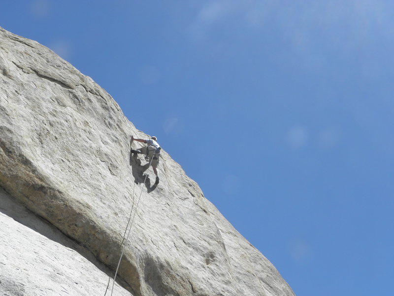 Rock Climbing Photo: Tim Pinar on M.S.U.