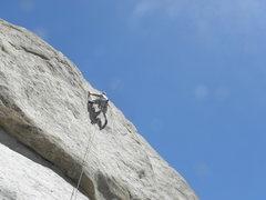 Rock Climbing Photo: Tim Pinar on M.S.U.