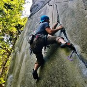 Rock Climbing Photo: Action shot!!!