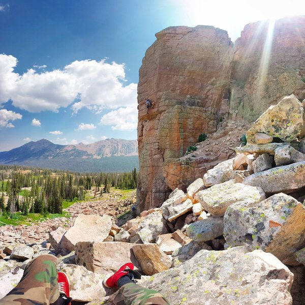 Rock Climbing Photo: Alex Gavic on Peace treaty