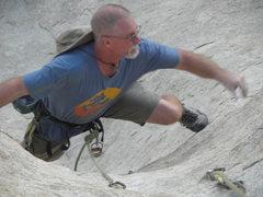 Rock Climbing Photo: Tim Pinar on T.D.of D.
