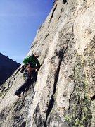 Rock Climbing Photo: North Ridge of Spearhead