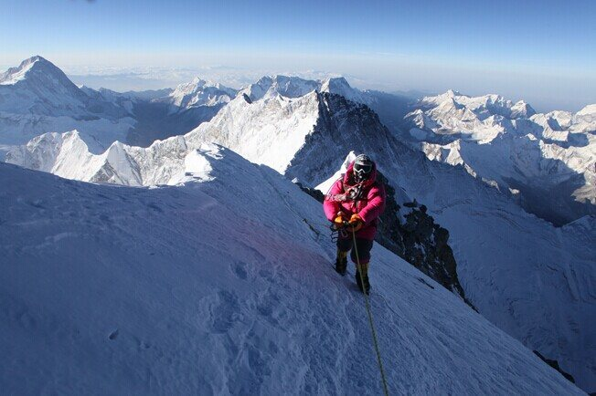 Rock Climbing Photo: Himalaya