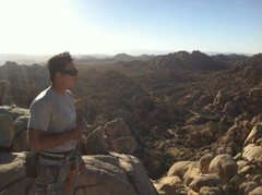 Rock Climbing Photo: Super dome Joshua tree