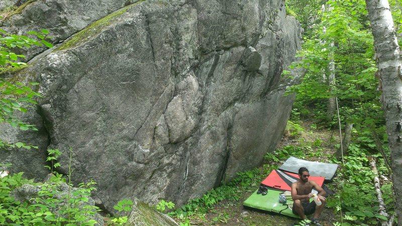 The Carlton Boulder