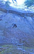 Rock Climbing Photo: Nicola Masciandaro on The Black Flag of the Schwar...