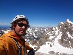 Rock Climbing Photo: South Teton solo. July 2014