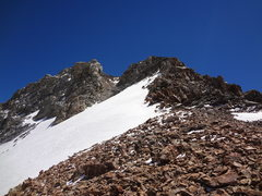 Rock Climbing Photo: South Teton. Solo.July 2014