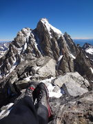 Rock Climbing Photo: Middle and South Teton. July 2014