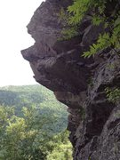 Rock Climbing Photo: Secret of the Notch