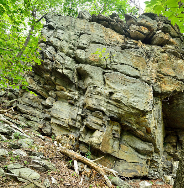 Rock Climbing Photo: Outlying Area - Central