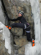 Rock Climbing Photo: Ouray mixed climb
