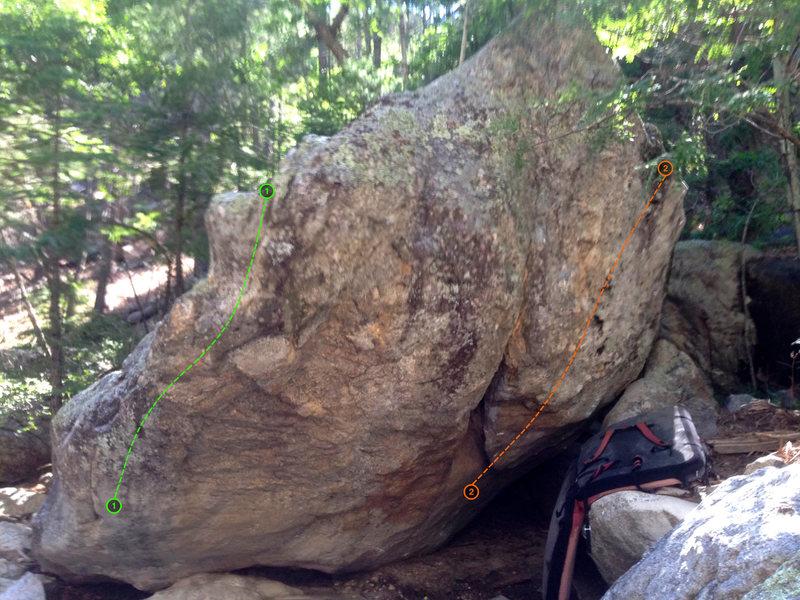Rock Climbing Photo: Colonel boulder