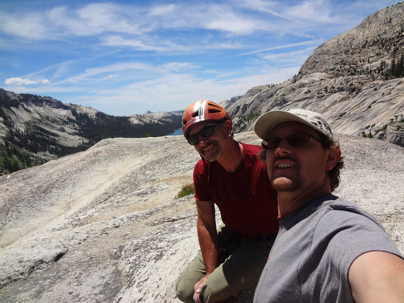 Tuolumne Meadows with John and Di. July 2014.