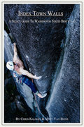 Rock Climbing Photo: Book cover for Index Town Walls. Climber on the co...
