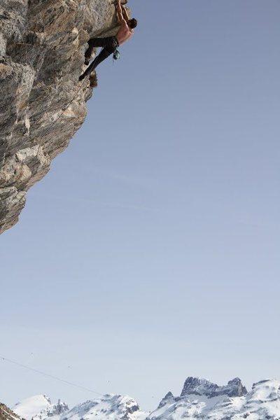Rock Climbing Photo: Eiger live