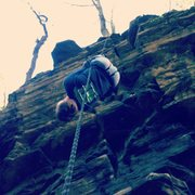 Rock Climbing Photo: my brother