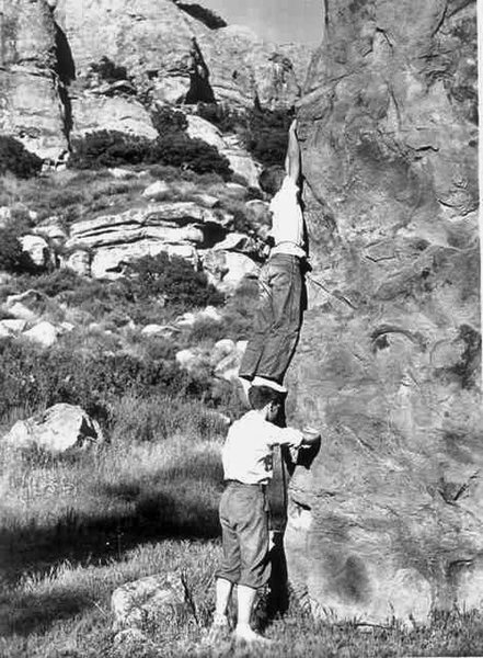 Rock Climbing Photo: shoulders of giants