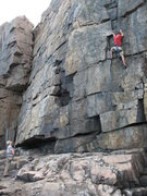 Rock Climbing Photo: Easy Corner, Wonder Wall, In the Groove & The Flak...