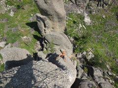 Rock Climbing Photo: Black Hills SD. JULY 2014. TRICONI NAIL AND TENT P...