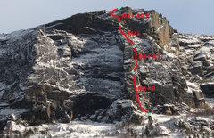 Rock Climbing Photo: Voici une image prise sur EscaladeQuebec avec un p...
