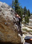 Rock Climbing Photo: Adam Gill Always topless