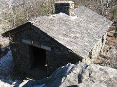 Rock Climbing Photo: The shelter