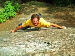 Rock Climbing Photo: Searching for holds