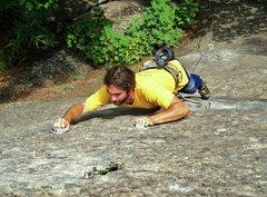 Rock Climbing Photo: THIN crimping