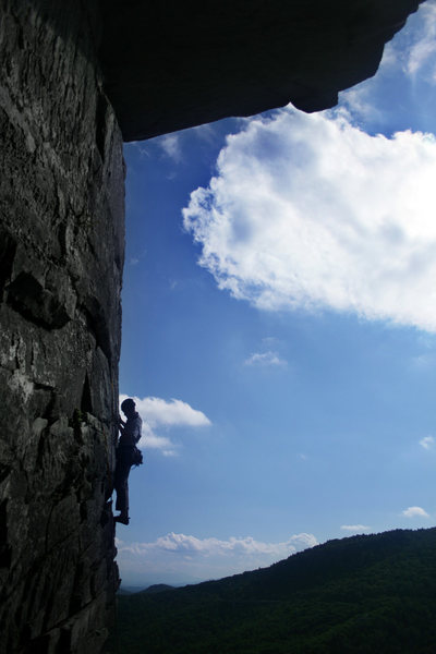 Rock Climbing Photo: Keith W on the arete