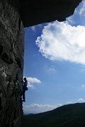 Rock Climbing Photo: Keith W on the arete