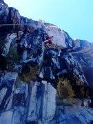Rock Climbing Photo: Will on phallucy