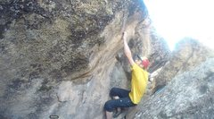 Rock Climbing Photo: The awful crimp, its great after that though!