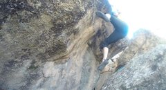 Rock Climbing Photo: The top out is excellent.