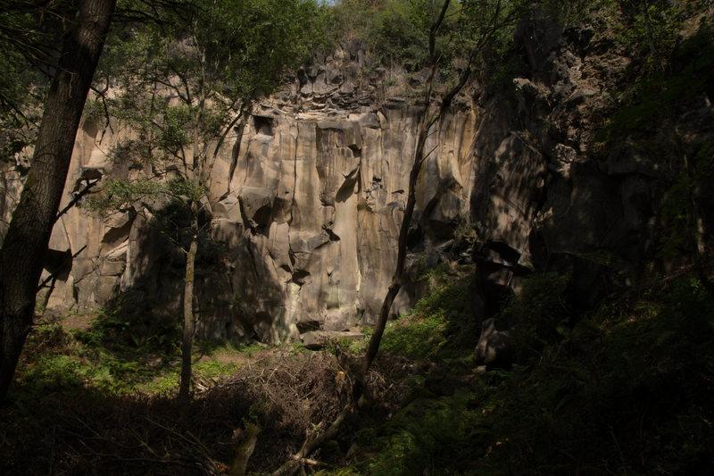 Rock Climbing Photo: Dornental main crag