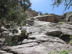 Rock Climbing Photo: View of the climb from below