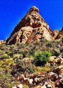 Rock Climbing Photo: Citadel as seen from approach. Photo Terry Cowan.