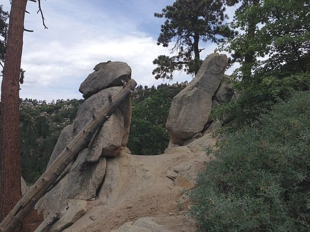 The Gunsight on the Siberia Creek Trail, Big Bear South