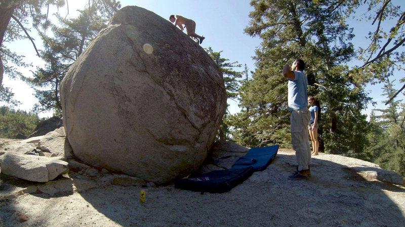 The Killer Crane Boulder
